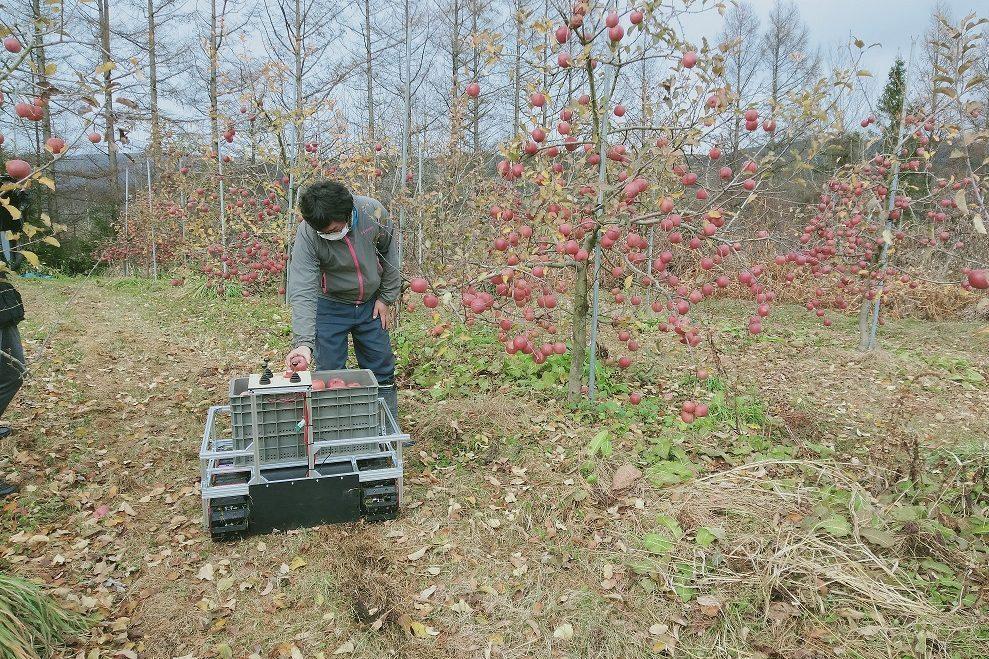 農業搬送ロボット