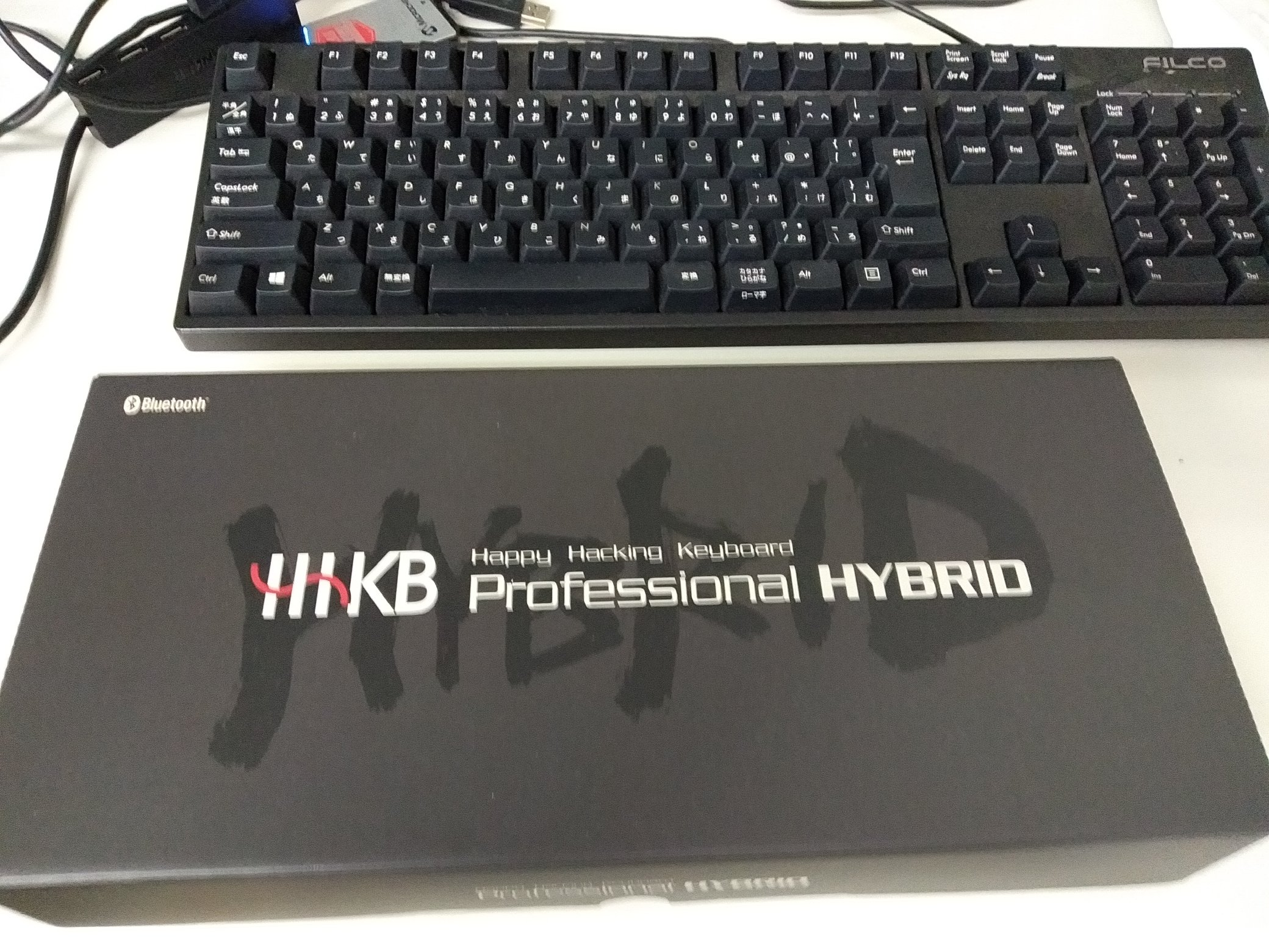 HHKB hybrid type-S を導入してみた。